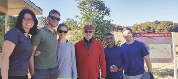ANGELA ROGERS, MD: LEE BROCKUS, MD and his wife; ROBERT HARRINGTON, MD; SHRIRAM NALLAMSHETTY, MD; KAI SWENSON, MD