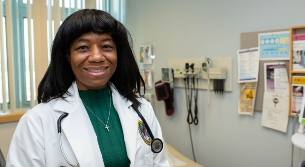 Rhonda Hamilton, MD, MPH, clinical assistant professor of primary care and population health