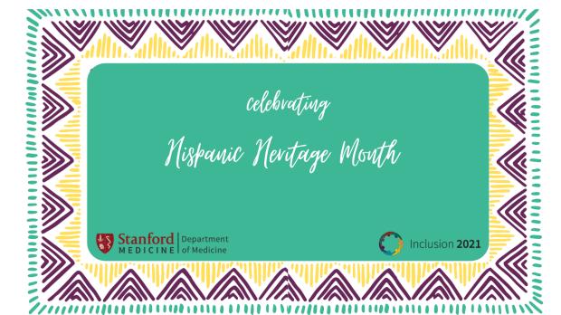 Hispanic heritage month background