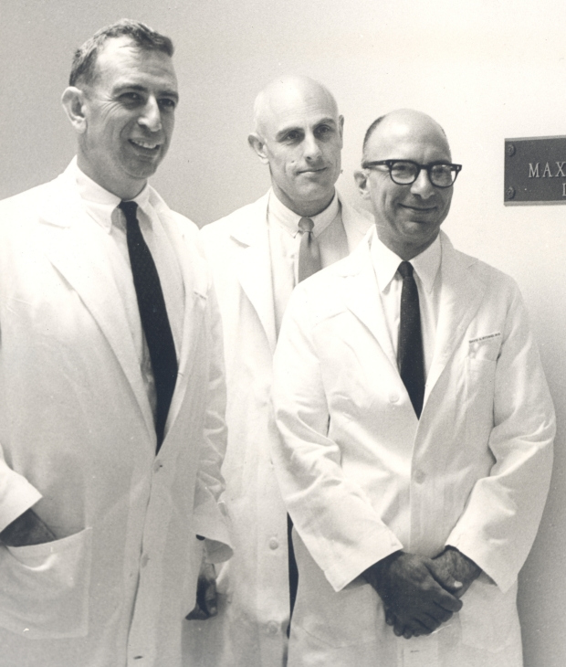 (Left to right: Robert Glaser, John Steward, David Rytand)