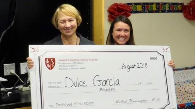 Dulce Garcia- August 2018 Employee of the Month