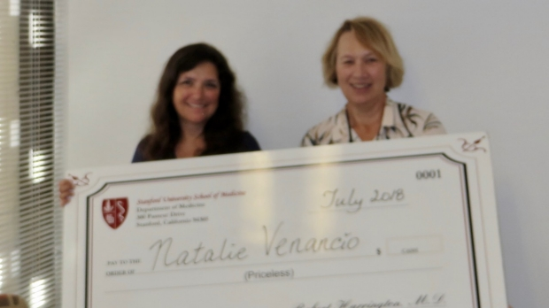 Natalie Venancio- July 2018 Employee of the Month