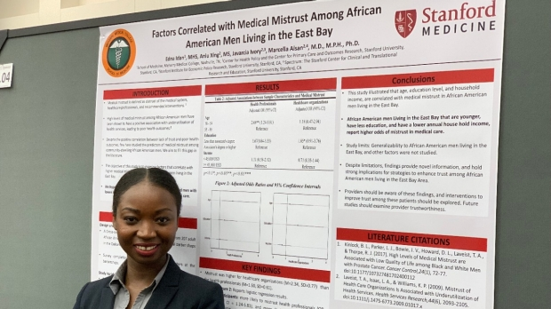 Meharry-Stanford Initiative Student Wins Best Overall Poster