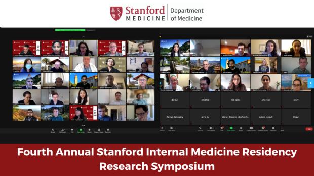 Awarding Residency Research at Virtual 2021 Symposium