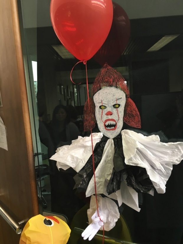 2017 Halloween Door Decorating Contest Department Of