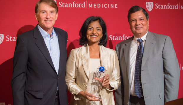 Latha Palniappan Receives Health Leadership Award