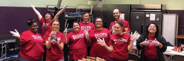 SCOPE volunteers
