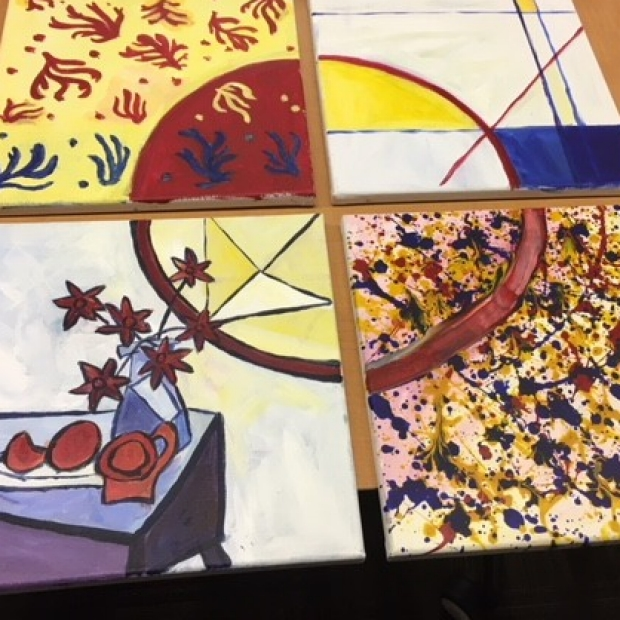 A student's painting