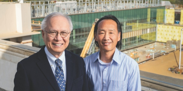 LAWRENCE LEUNG, MD (left), and PHILIP TSAO, PHD