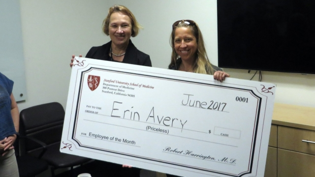 Erin Avery - June 2017 Employee of the Month