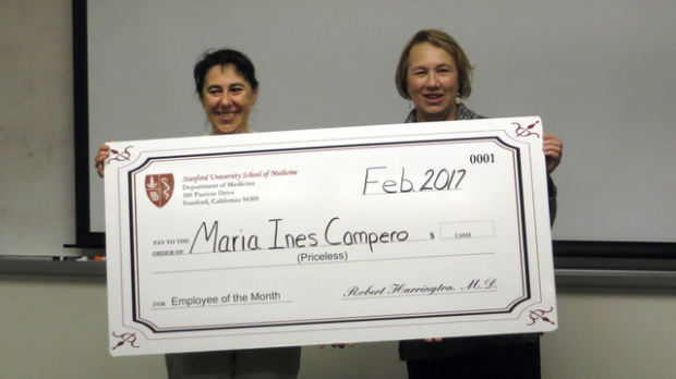 Ines Campero - February 2017 Employee of the Month