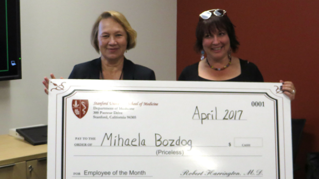 Mihaela Bozdog - April 2017 Employee of the Month