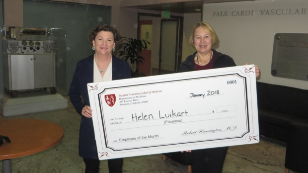 Helen Luikart - January 2018 Employee of the Month