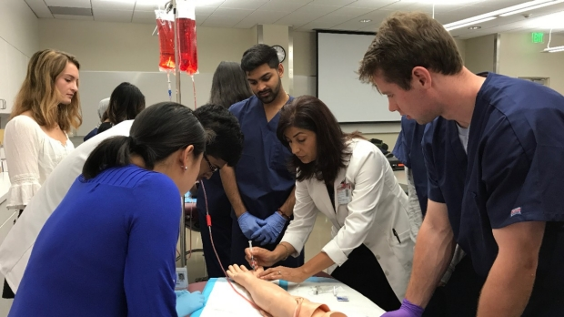 Stanford's Clinical Summer Internship, in Pictures