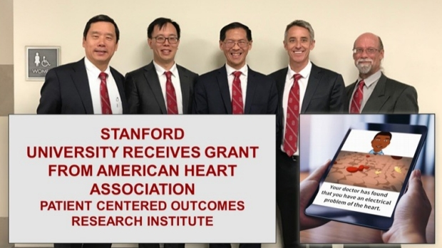 Stanford Team Receives Grant from American Heart Association